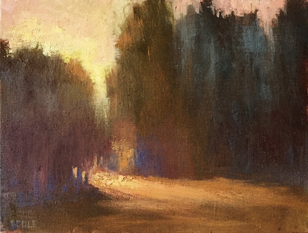 Illumination ©Beth Cole | Oil on Canvas | 9 x 12